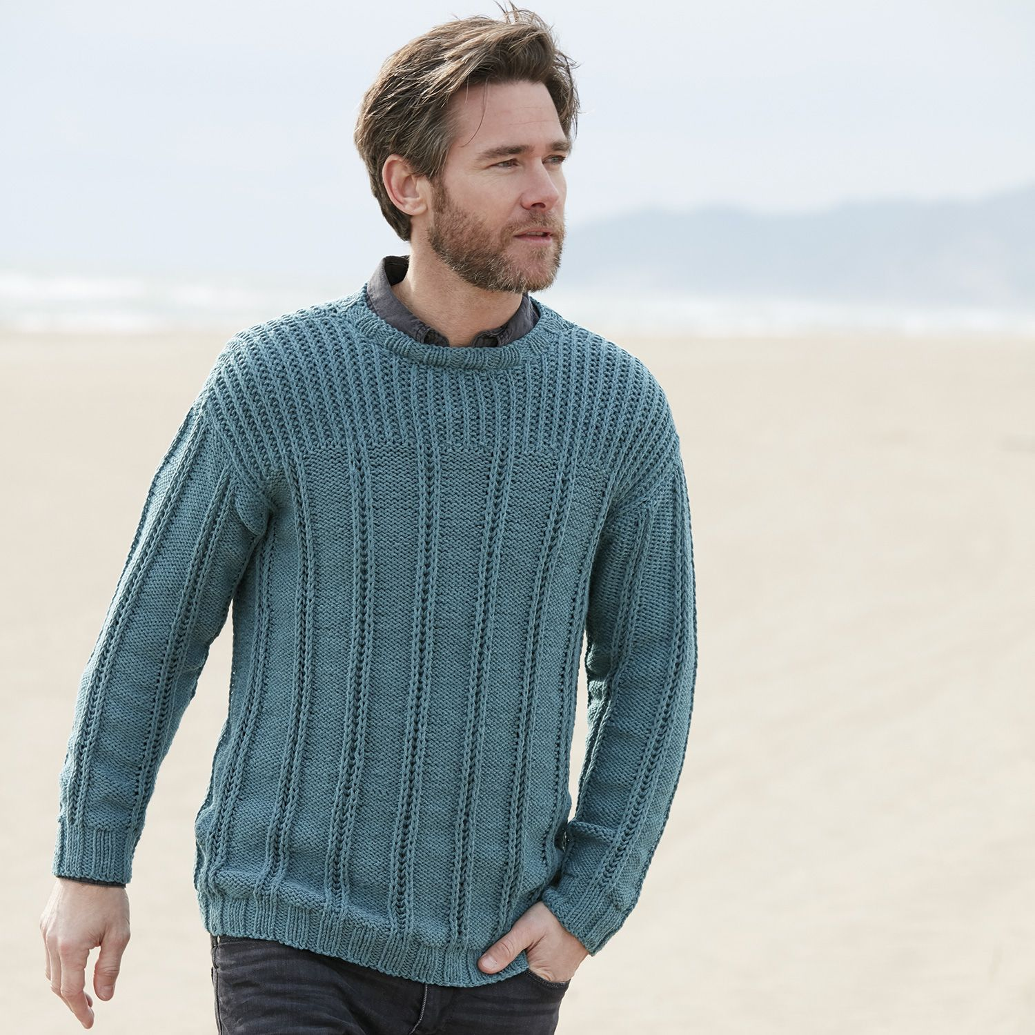 pull homme automne hiver