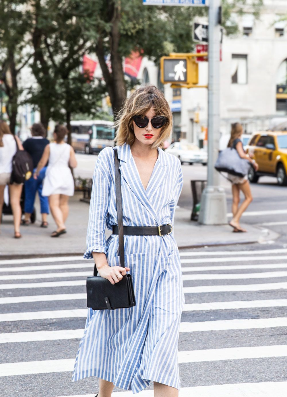 6 Ways To Update A Classic Shirt Dress