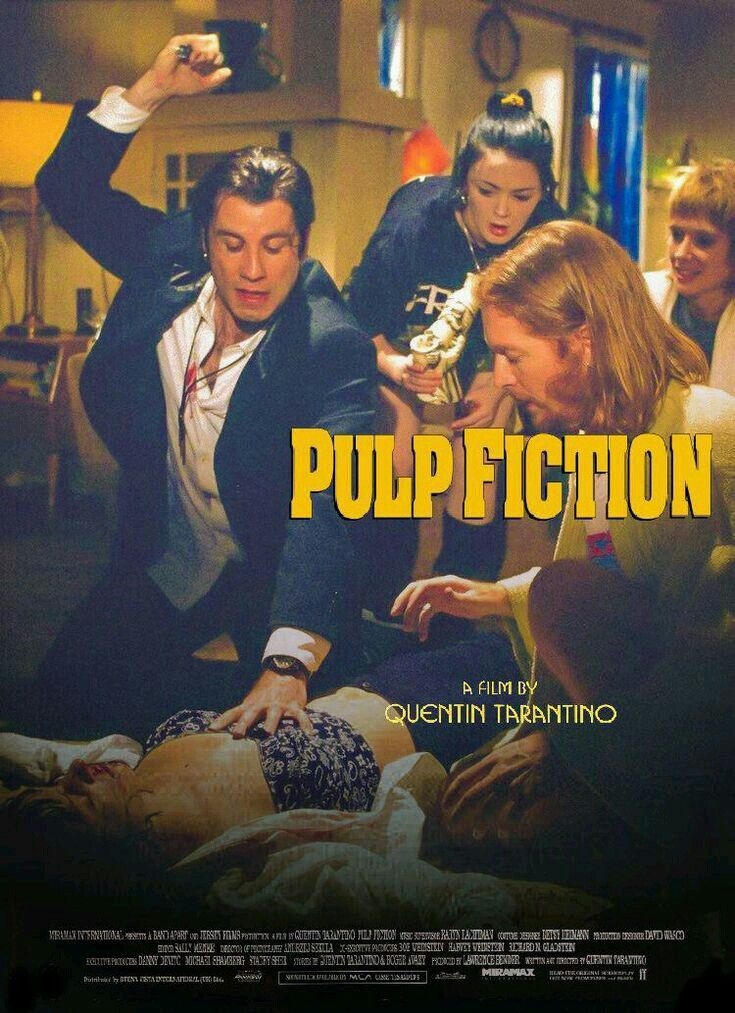 Pin by Robin on Pulp Fiction in 2020 Best movie posters