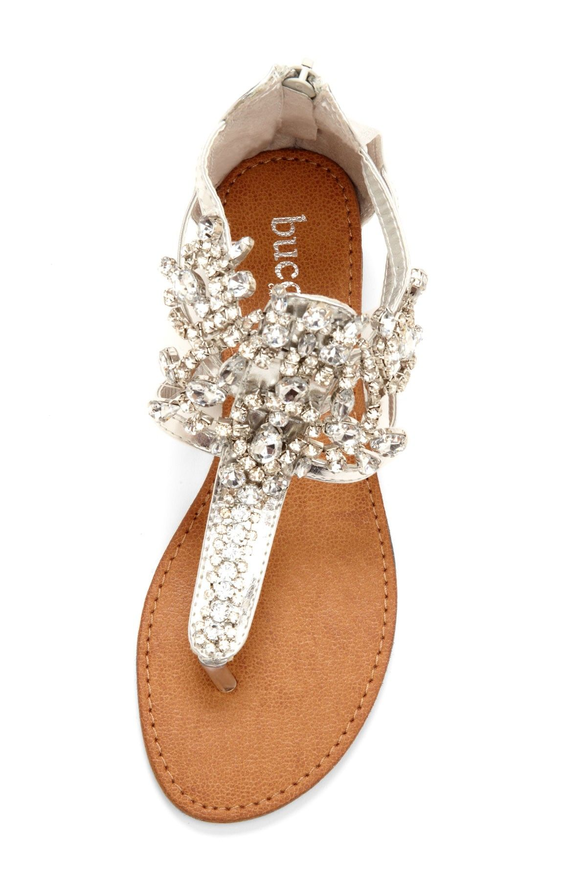 Bucco Destiny Rhinestone Sandal
