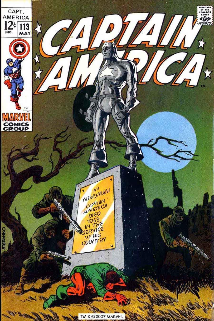 Captain America 113 - Steranko | Comics | 1960s | Comic