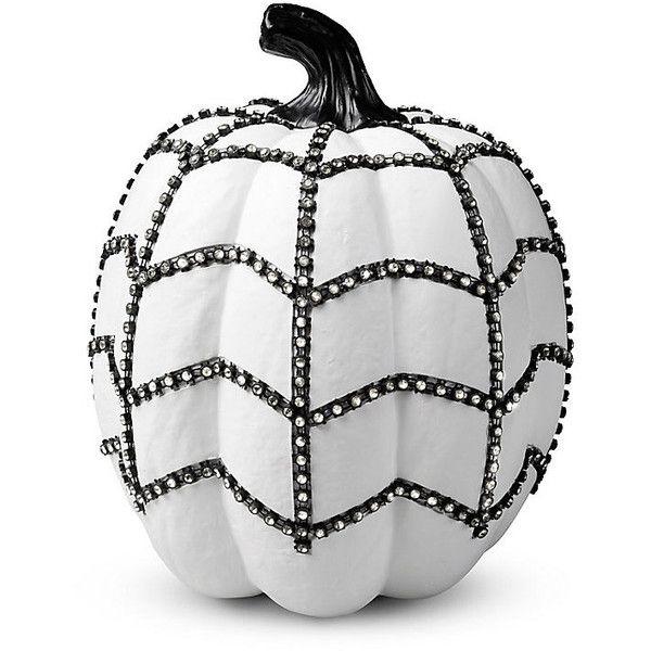 Improvements White Bling Pumpkin Halloween Decoration 12 Liked
