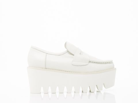 8bc4c12650a Stolen Girlfriends Club Factory Floor Shoes in White at Solestruck ...