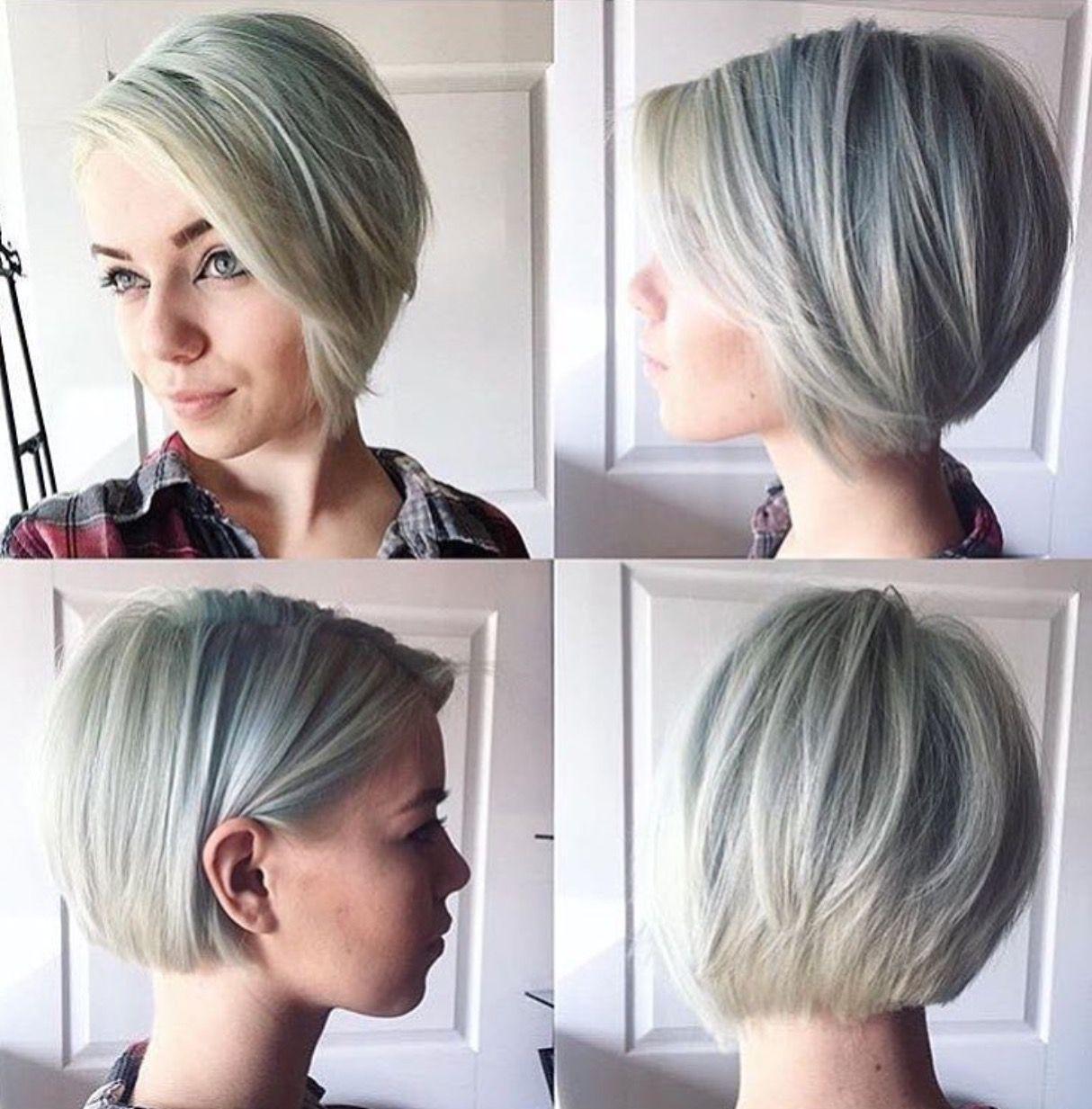 short blonde bob hairstyle for fine hair 2017   Short blonde bobs ...