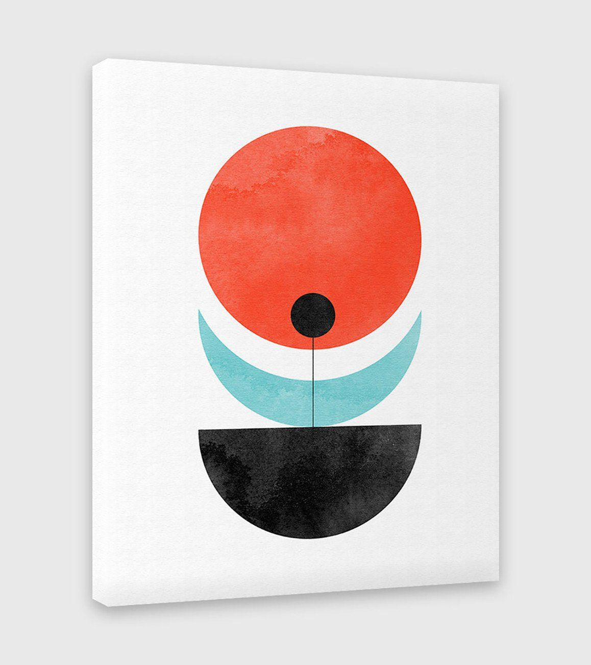 Moon Flower - Canvas Print