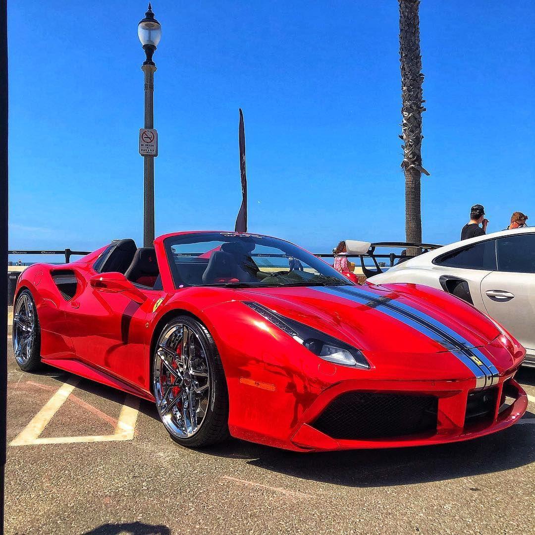 Brian King On Instagram Ferrari 488 Spider 660 Hp Top Speed 205 Mph Ferrari Spider Ferrari Ferrari 488