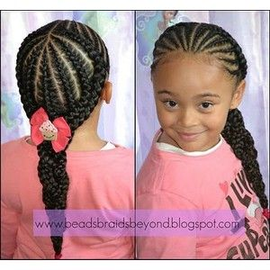 Cute little black girl hairstyles All Things Girly  Polyvore