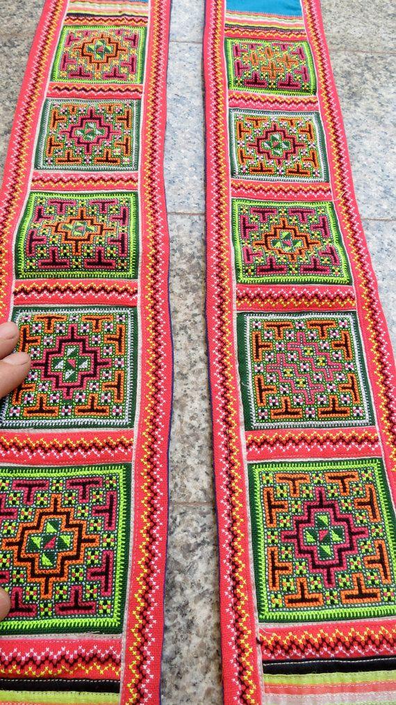 Magnificent Hmong Stickmuster Ornament - Decke Stricken Muster ...