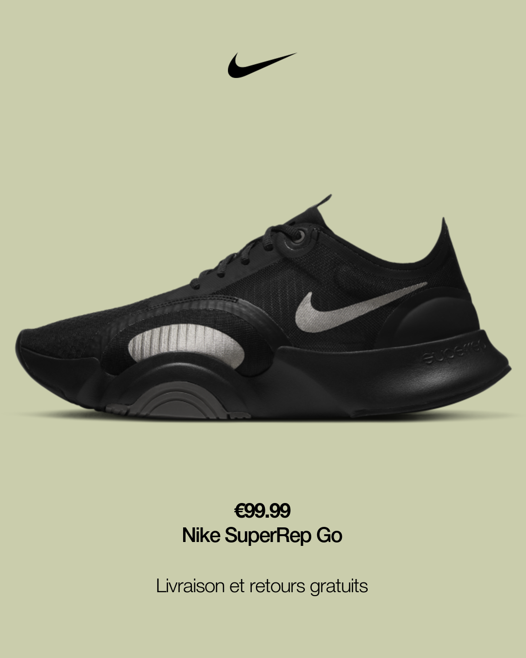 Chaussure de training Nike SuperRep Go pour Homme. Nike FR | Mens ...