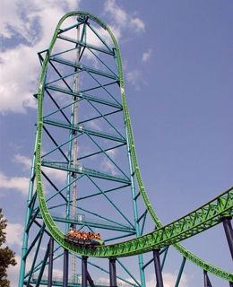 10 Scariest Thrill Rides On The Planet Thrill Ride Six Flags Great Adventure Amusement Park Rides