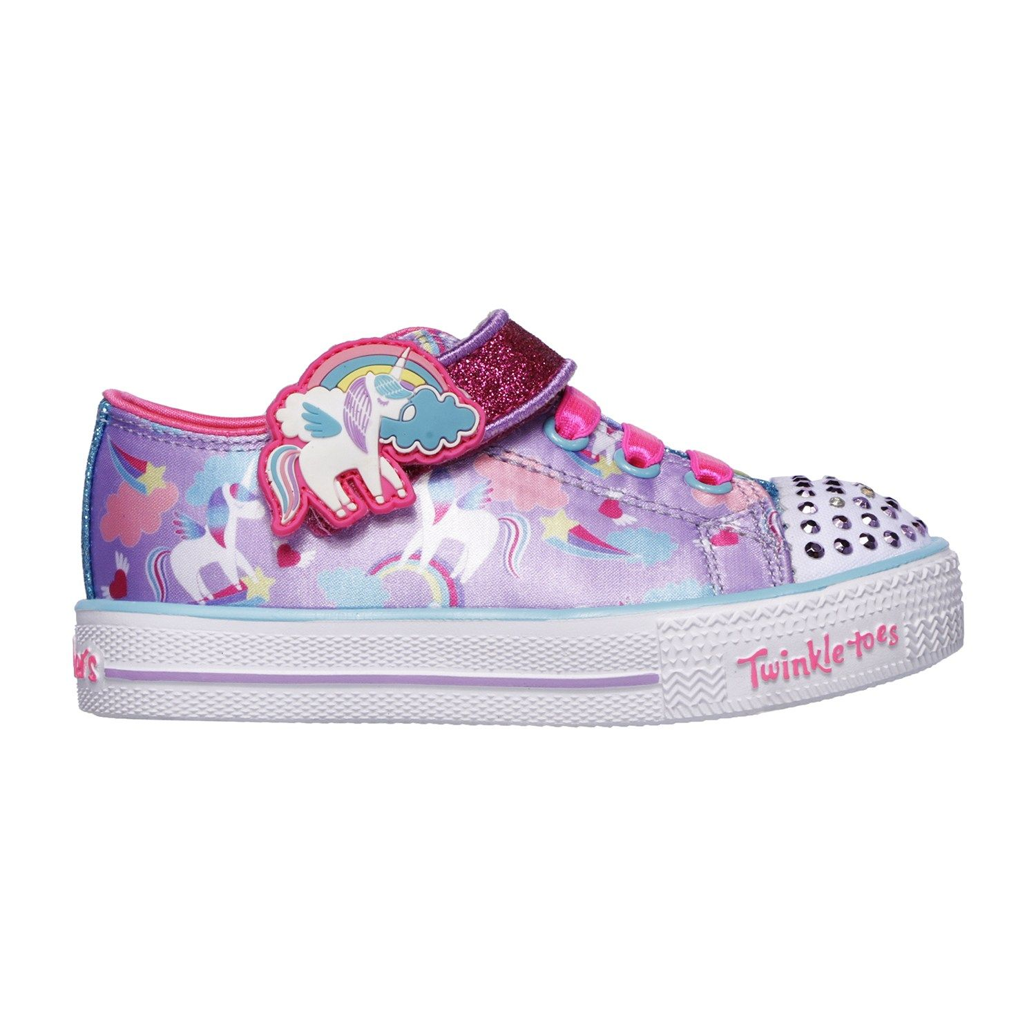 Skechers Twinkle Toes Twinkle Lite Toddler Girls' Light Up