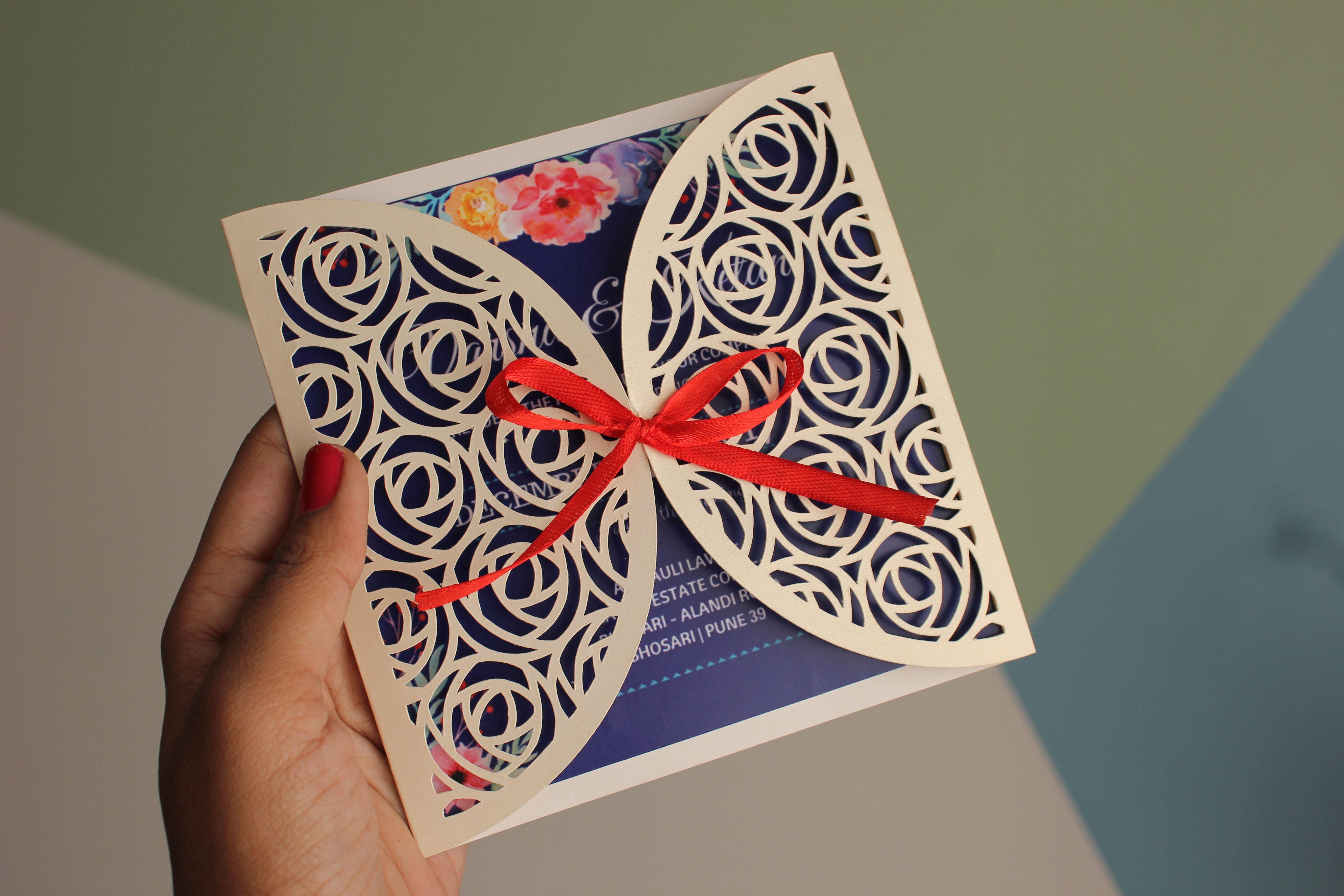 Wedding Invitation Card   Happiness is.. Crafting! {My Blog ...