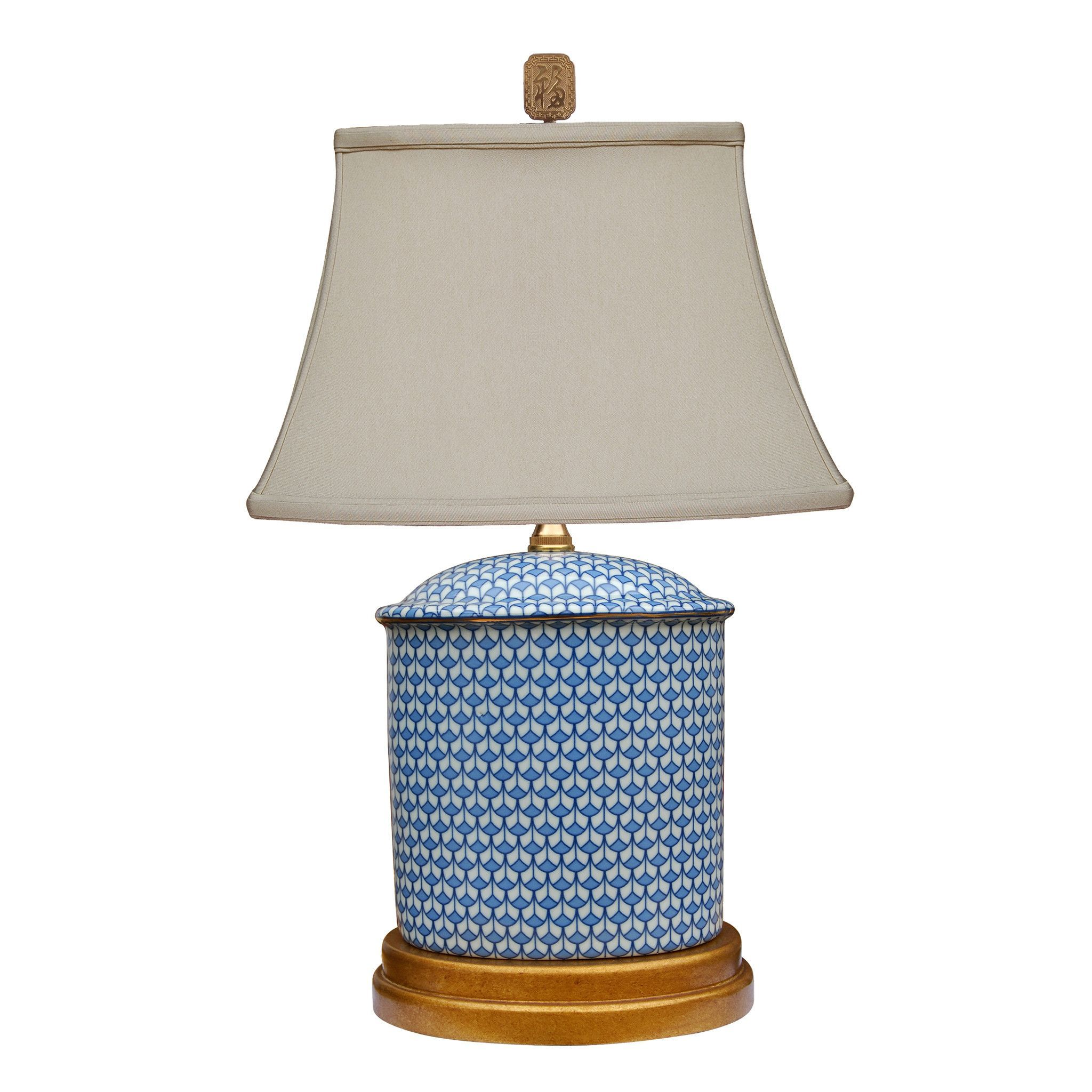 English Blue And White Porcelain Lamp In 2019 Lighting Indoors