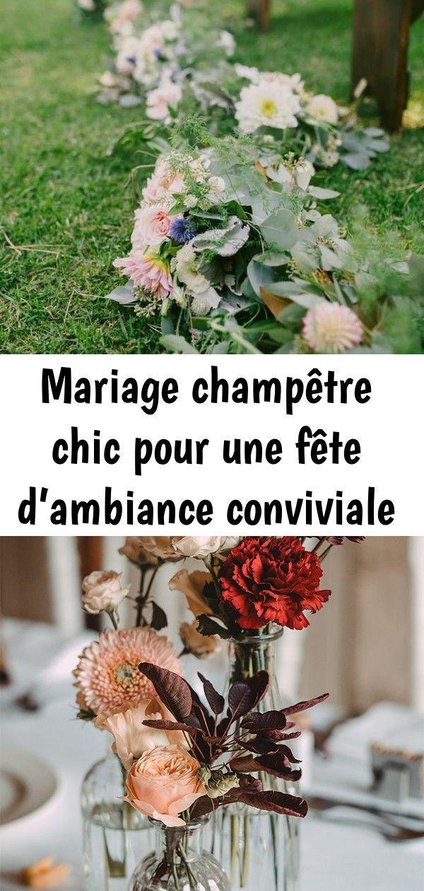 Photo of Mariage champêtre chic pour une soirée conviviale