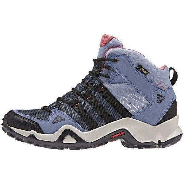 Adidas Outdoor AX2 Mid GTX Hiking Boot ($108) ❤ liked on