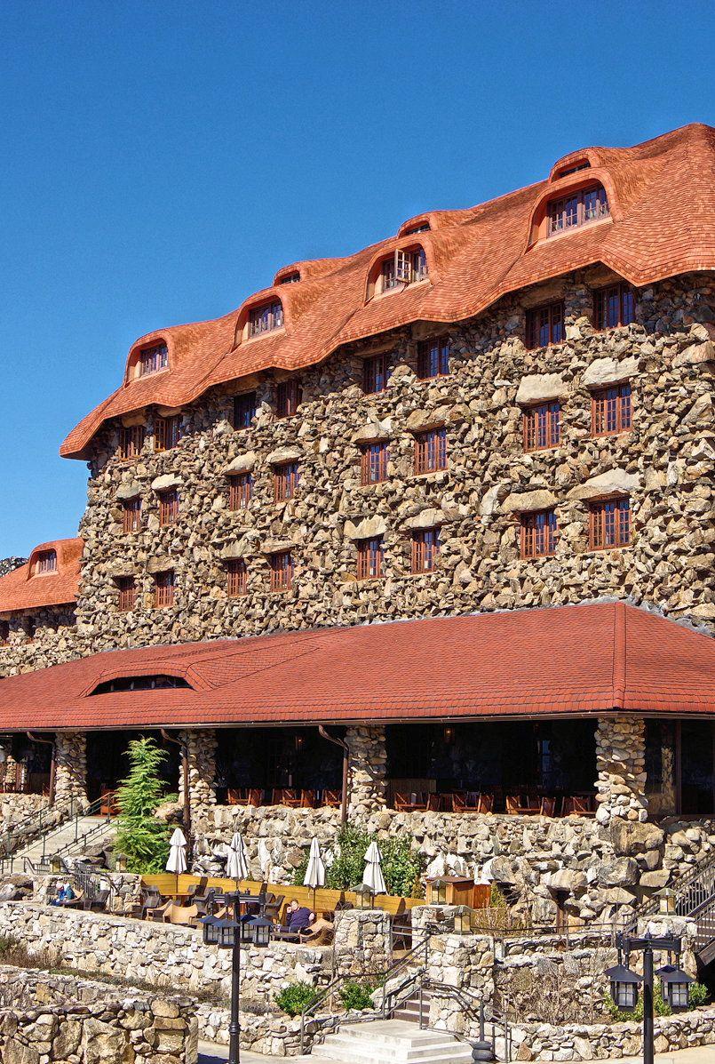 The historic Grove Park Inn in Asheville, NC. A favorite