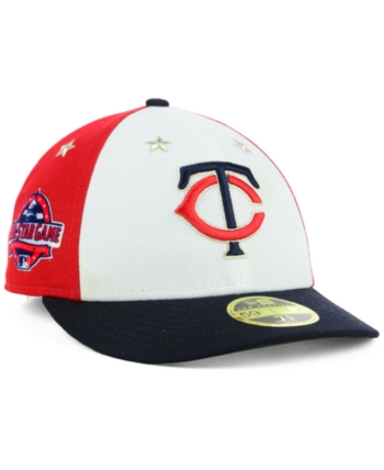 huge selection of 53145 d7388 New Era Minnesota Twins All Star Game Patch Low Profile 59FIFTY Fitted Cap  2018 - Navy Scarlet White 7