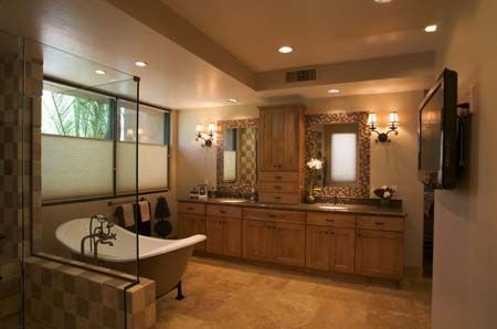 Tucson, AZ bathroom by Eren Design & Remodel - Luxury spa ...