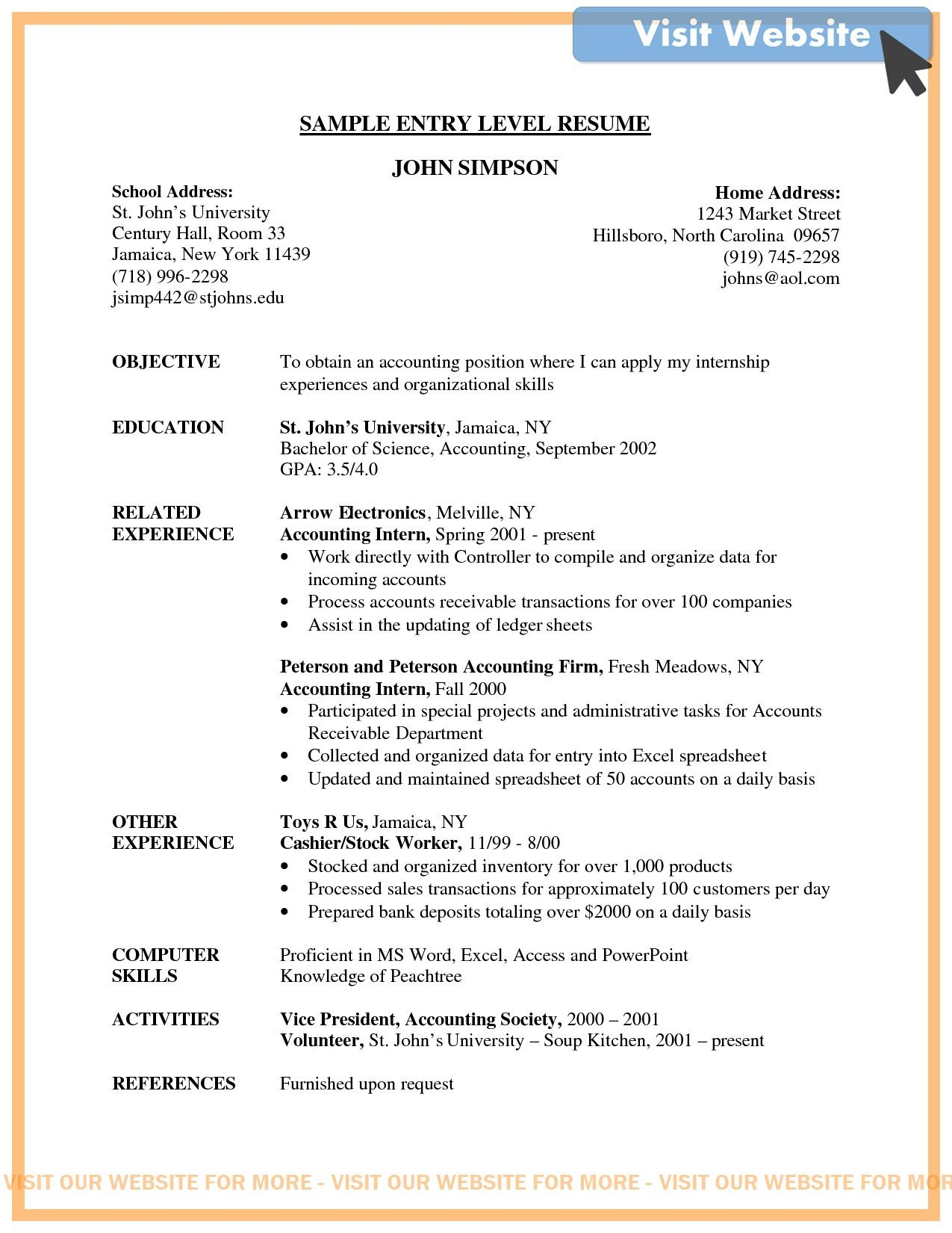 firefighter resume cover letter samples in 2020 Entry