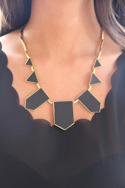 So excited about this find- looks identical to the House of Harlow  Station necklace!! but only $38