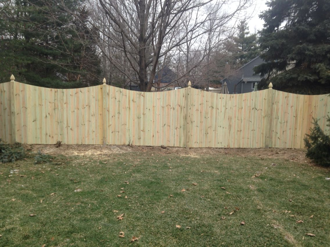 French gothic spaced picket wood fencing pinterest wood wood fencing pinterest wood fences fence styles and woods baanklon Gallery