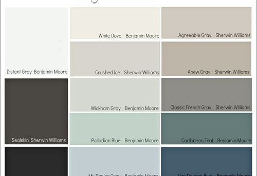 Sherwin Williams Popular Paint Colors Most Popular Colors For Bedrooms Palladian Blue Paint Colors House Painting