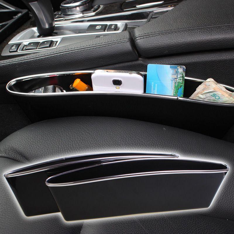 2 Pcs/Set CATCH CADDY Car Seat Pocket Catcher Organizer Car Seat PP ...