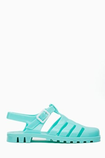 d218663a90ae Edie Jelly Sandal - Mint. haha their made for me! (My childhood summed up  in a shoe)