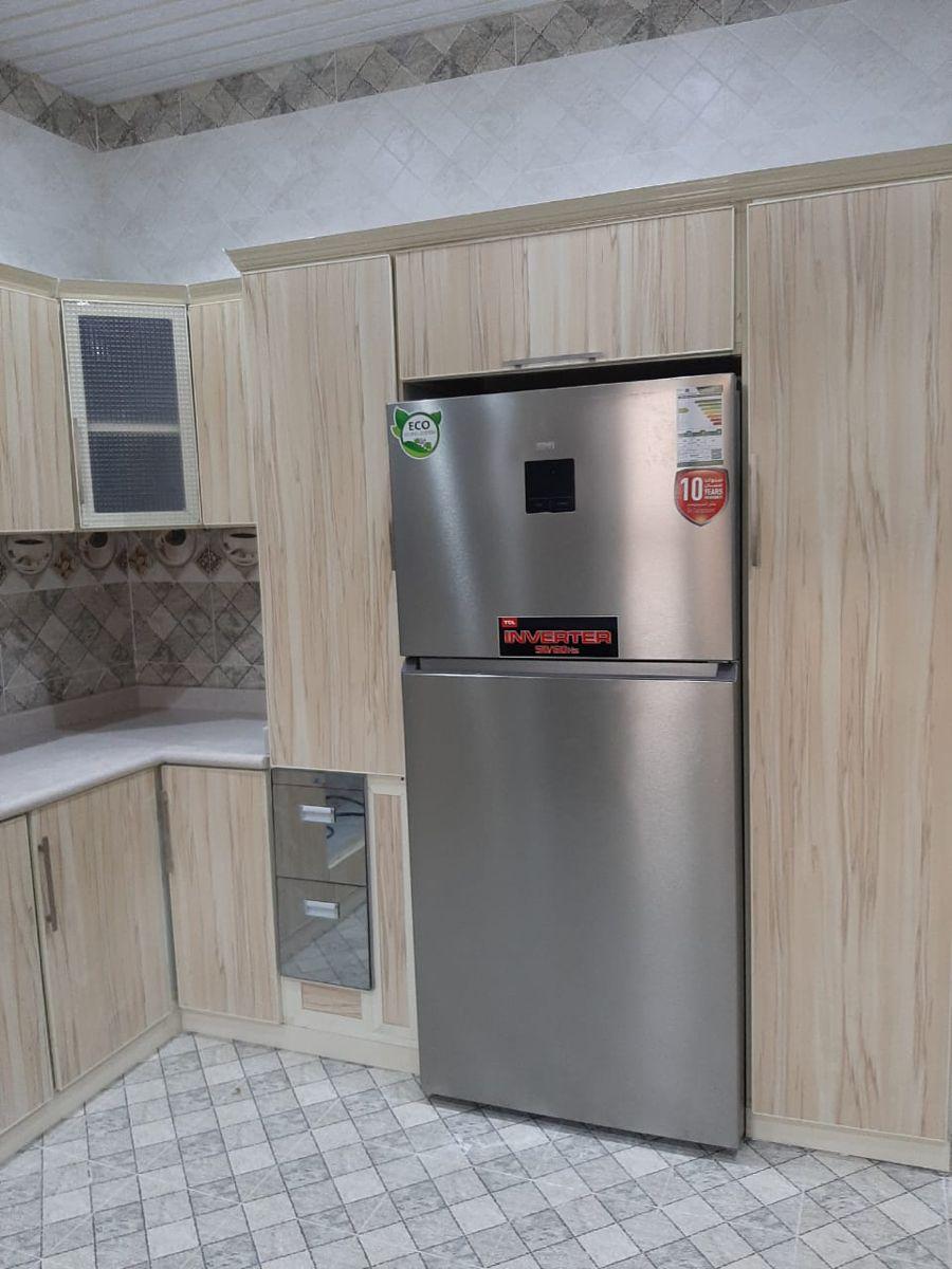 تفصيل مطابخ Kitchen Kitchen Appliances Top Freezer Refrigerator