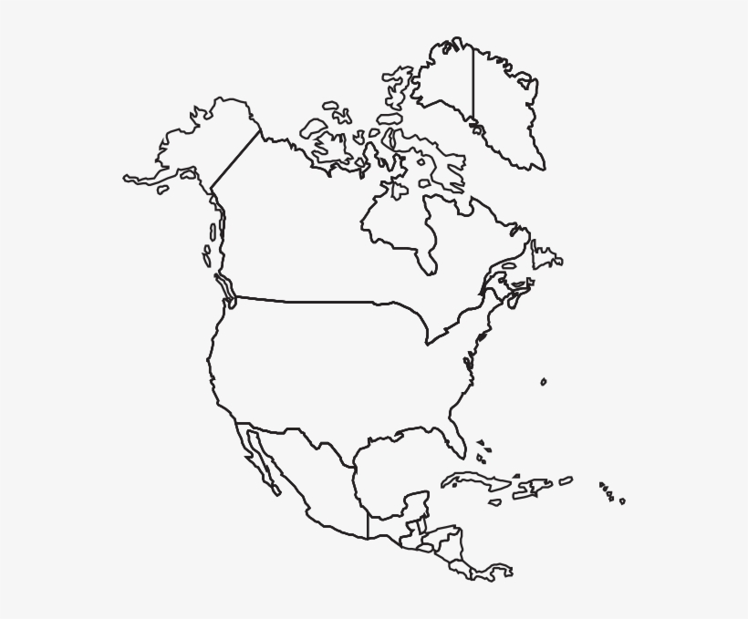 blank map north america Download Printable North America Blank Map Png Image For Free blank map north america