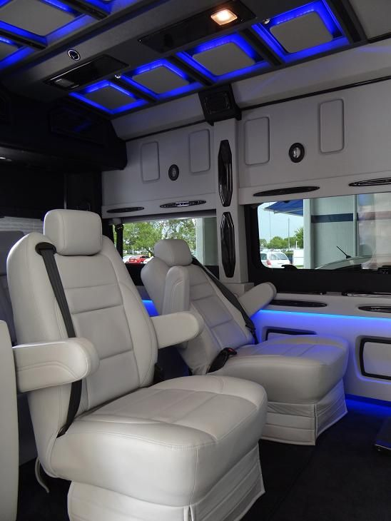 Nissan NV Conversion Van Interior