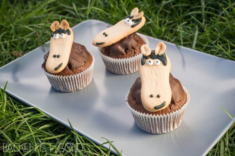 pferde muffins rezept essen pinterest backen kuchen und kuchen kindergeburtstag. Black Bedroom Furniture Sets. Home Design Ideas