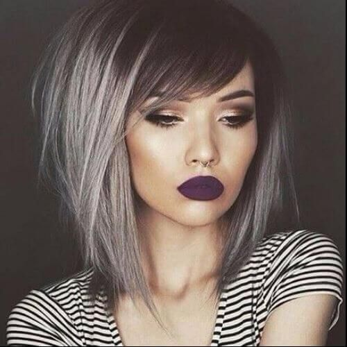 dark grey bob haircut | Hair | Pinterest | Haircuts, Bobs and Hair style