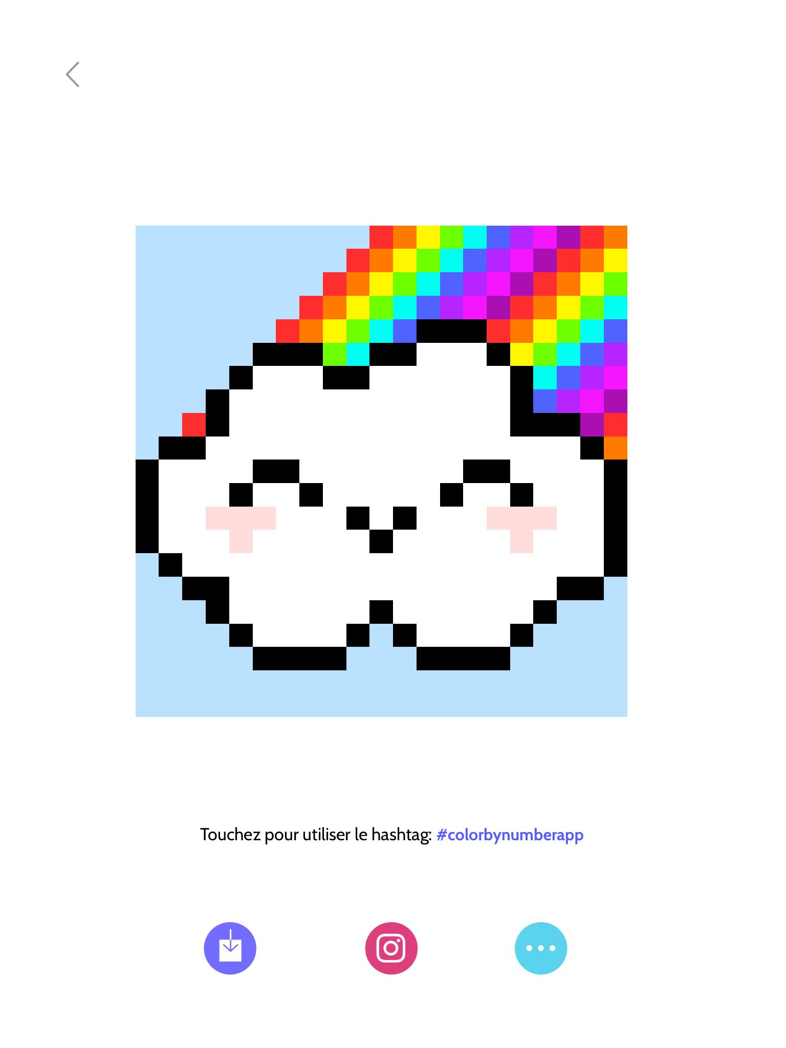 Pixel Art Arc En Ciel Petit