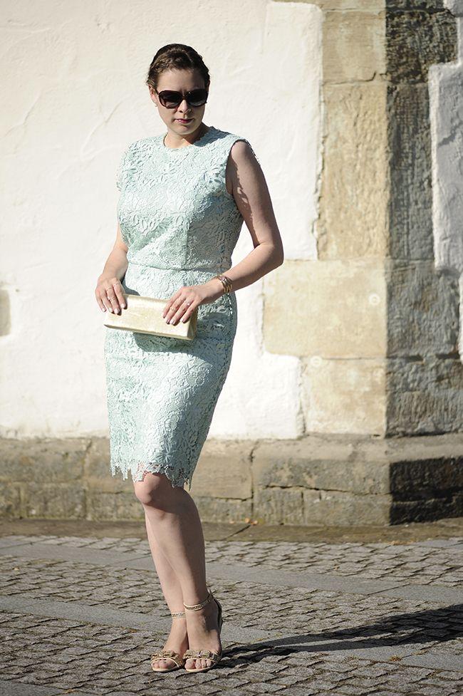 .: Spitzenkleid für eine Hochzeit :. #weddingguest #DIY #selbstgenaeht #lacedress
