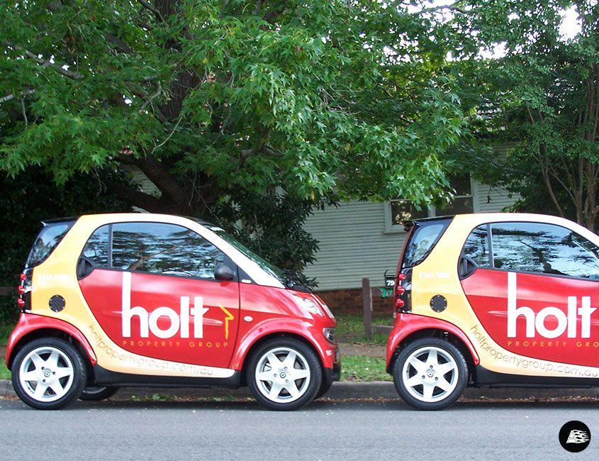 Real Estate Vehicle Wrap Smart Car Smart Car Car Wrap