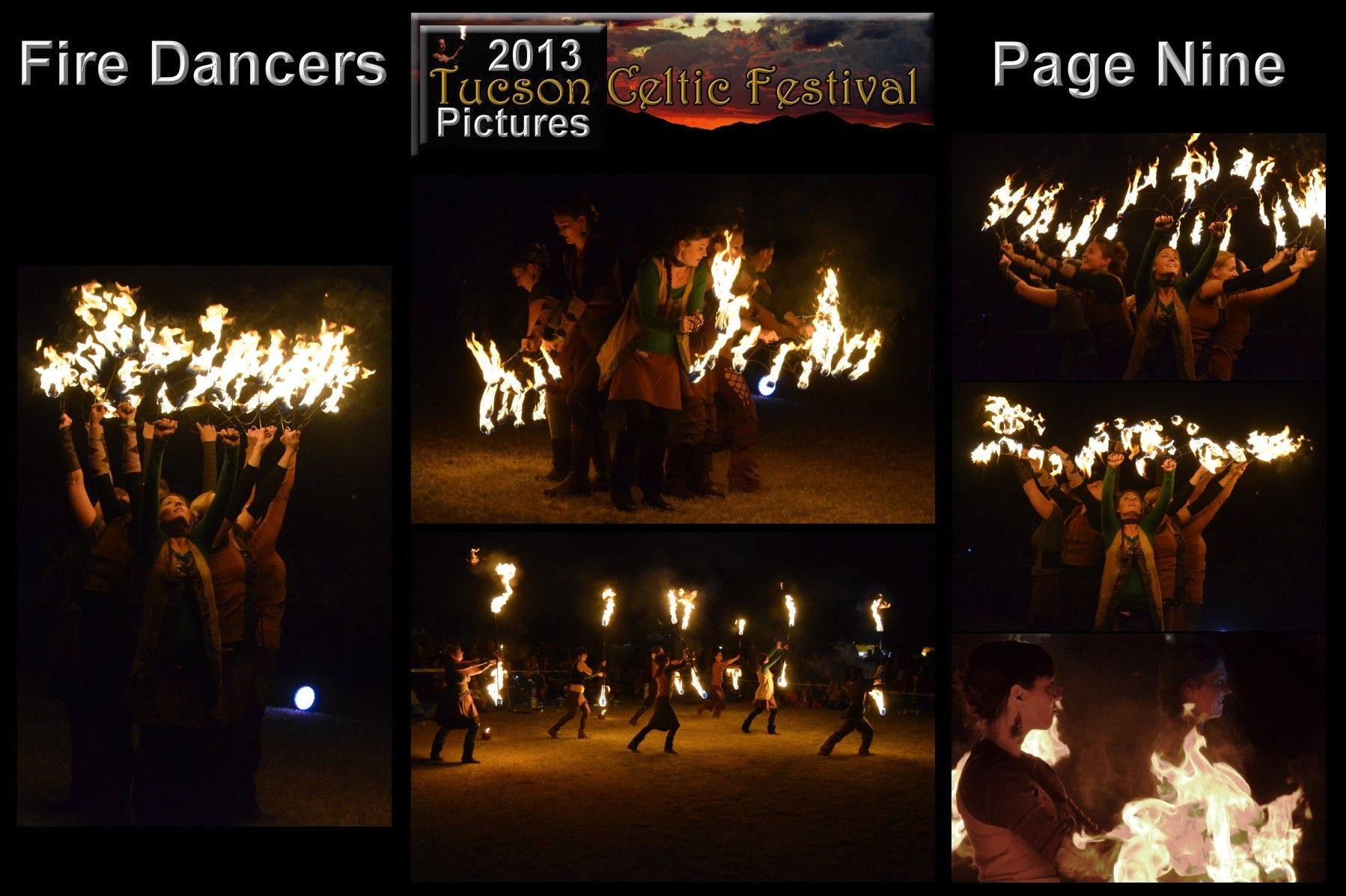 Cirque Roots Fire Dancers Photos by Stephen Graham