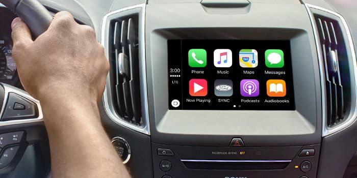 c mo configurar e instalar carplay en cualquier coche con un iphone iphone usb y soporte. Black Bedroom Furniture Sets. Home Design Ideas