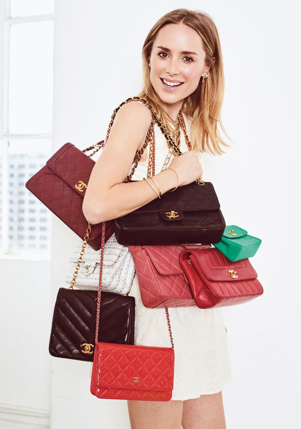 feda2ee5e3f Anine Bing and vintage Chanel Flap Bags | Bags in 2019 | Vintage ...