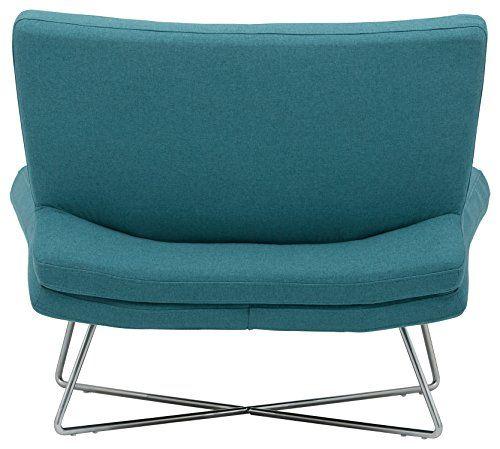Rivet Farr Lotus Accent Chair Type: Midcentury Modern Rivet Farr Lotus Accent Chair, Aqua