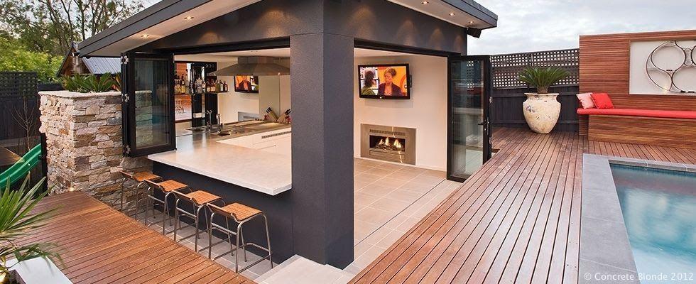 Australian Outdoorkitchen Hledat Googlem Backyard Pool Outdoor Kitchen Design Ideas With Backyard Pool Landscaping Outdoor Kitchen Design Backyard Entertaining