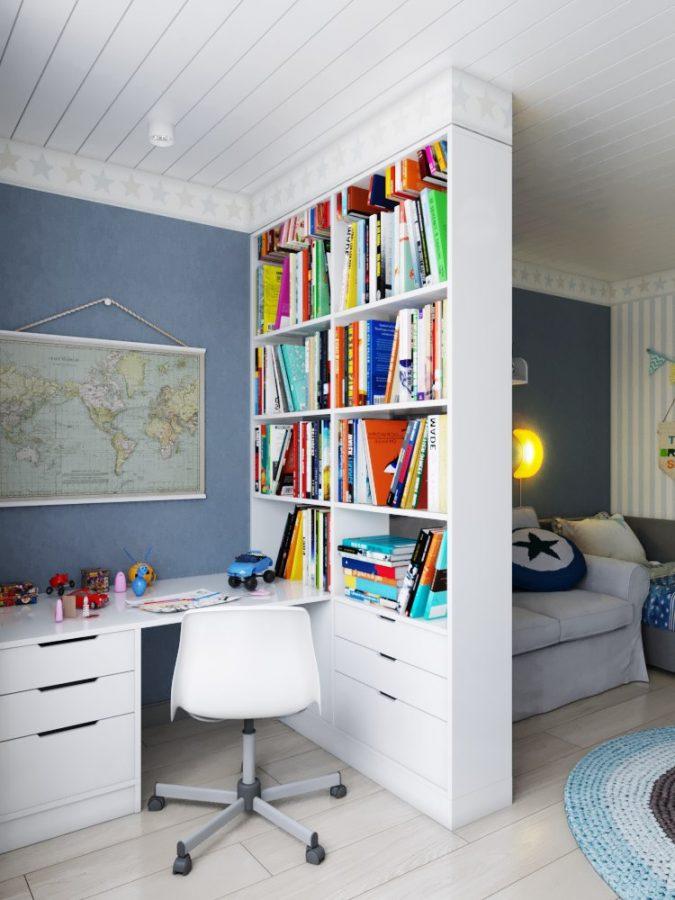 Photo of Дизайн-проект трехкомнатной квартиры 80 кв.м. | Студия Дениса Серова
