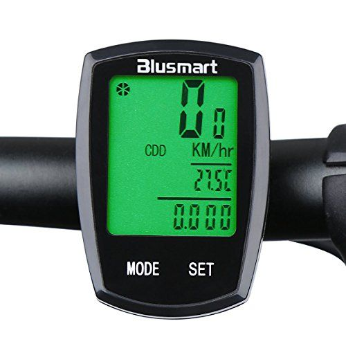 Blusmart Wireless Touch Mode Bike Computer Waterproof Automatic