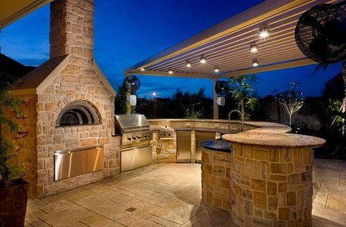 foto de cocina al aire libre 2 Arquitectura Pinterest Rusticas