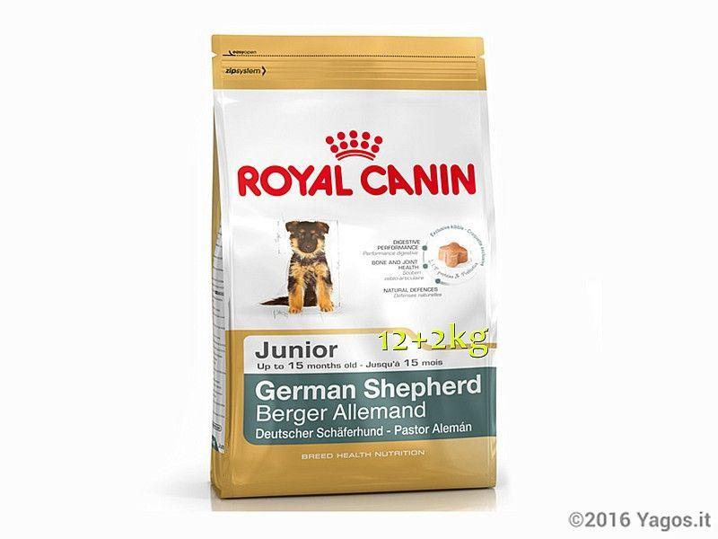 Alimento Per Cani German Shepherd Junior 12 2kg Omaggio Royal