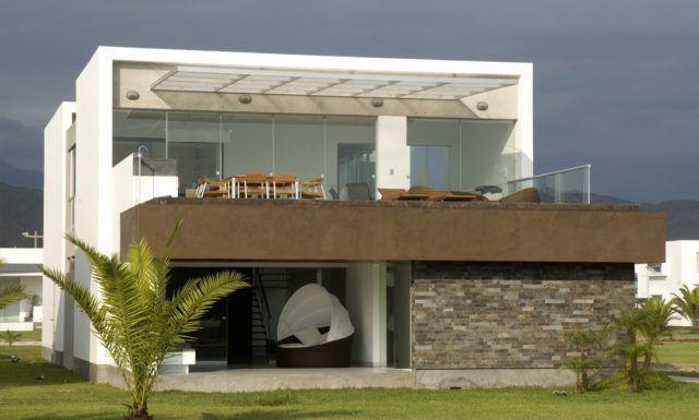 Resultado de imagen para fachadas modernas casas de playa for Fotos de fachadas de casas andaluzas