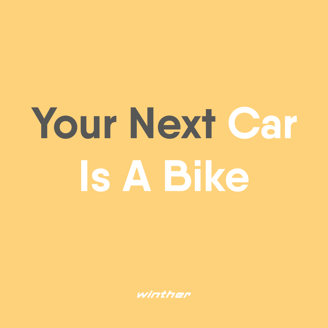 Are you considering replacing the car with a cargo bike? Here are 5 reasons why:  1. You boost your health 2. You combine training and transport 3. You save money 4. You avoid traffic queues 5. You will be the coolest role model for your children  #wintherbikes #wintherkangaroo  #handmadeindenmark #danishengineering #greentransport #urbanmobility #gogreen #greenfamily #lovetheearth #ecofriendlyliving #lastenrad #cargobike #cargobikelove #greentransportation #familybike #cargokids