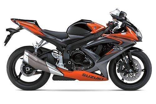 Suzuki Gsxr 600 Black Orange Suzuki Motorcycle Gsx Suzuki Bikes