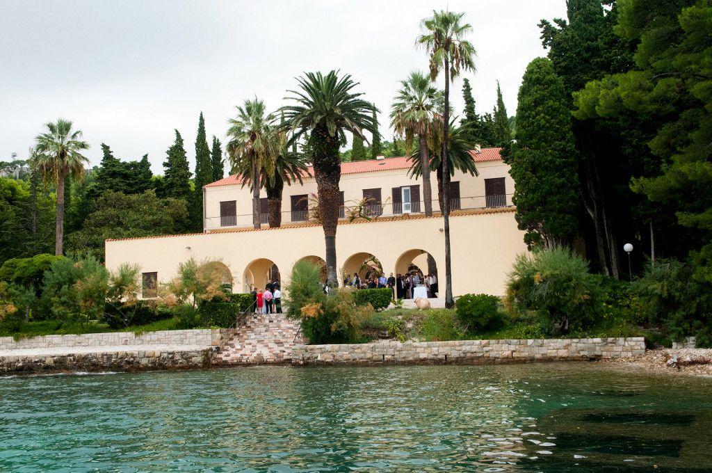 Villa Dalmacija Split Croatia wedding, Beach wedding