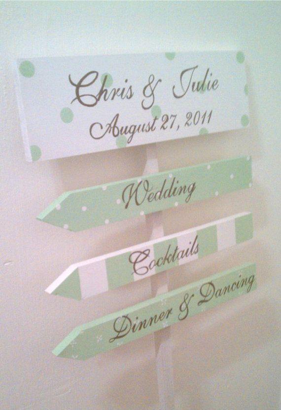 panneau directionnel pour un mariage menthe ou vert d 39 eau idee wedding pinterest. Black Bedroom Furniture Sets. Home Design Ideas